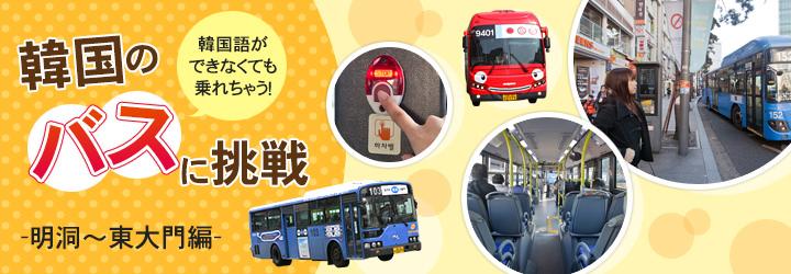 韓国語ができなくても乗れちゃう!韓国のバスに挑戦‐明洞~東大門編‐