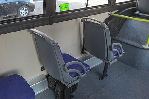 座席のサイド
