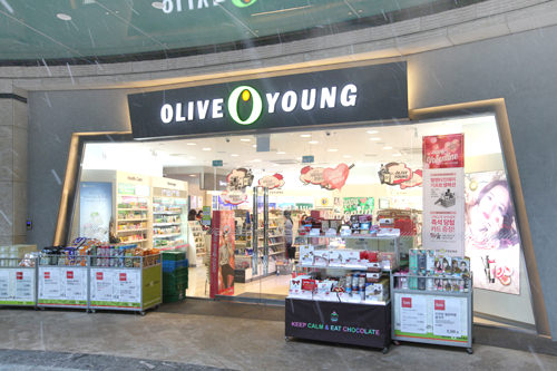 OLIVE YOUNG(地下1階)