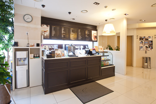 院内カフェ