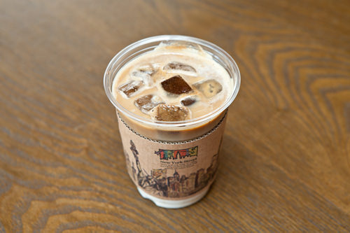 アイスキューブラテ(アイス) 4,000ウォン