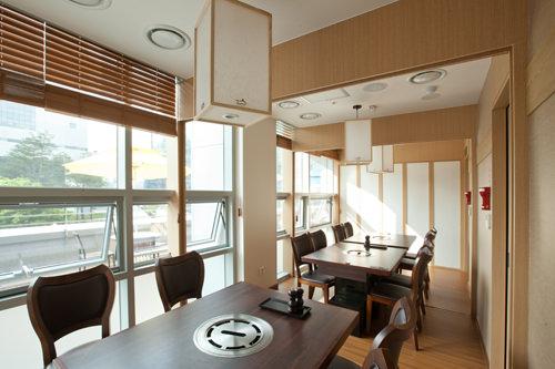 会食に利用される個室