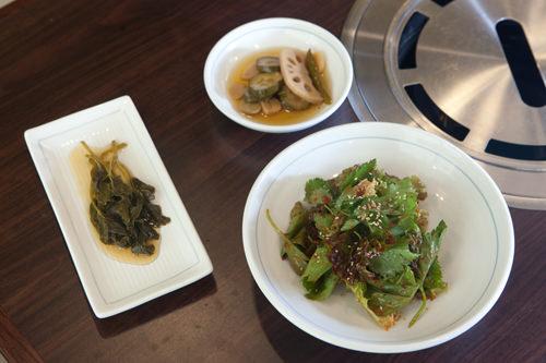 ピリ辛野菜、漬物