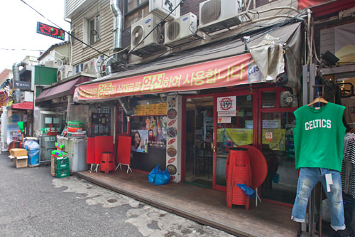 向かいにある1号店