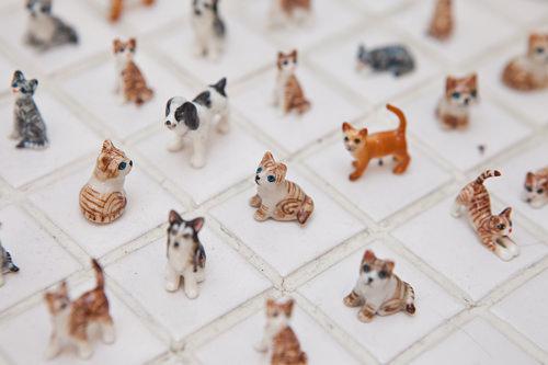 贈る相手に合った動物を選ぶ楽しみ小さな動物陶磁器(タイ産)3,000~19,000ウォン