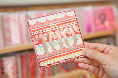 数字にメッセージを書いて贈ろう!1~100までの数字カード各1,500ウォン