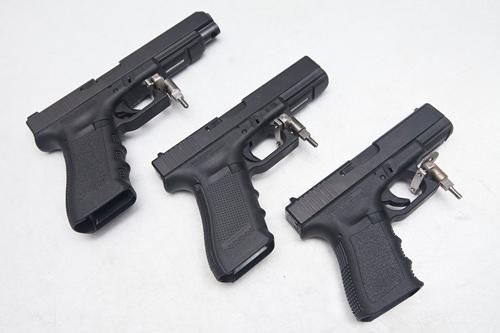 GLOCK 30発セットGLOCK17 +CLOCK19+ GLOCK34映画「アジョシ」でウォンビンも使ったあの銃を体験!