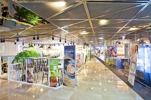 地下1階ソウルスクエアモール