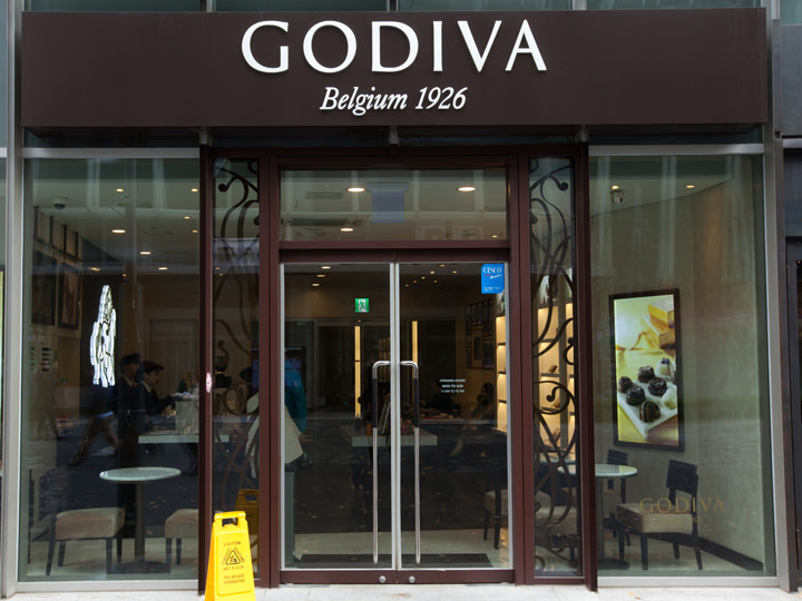 ベルギーの有名チョコ店「GODIVA」