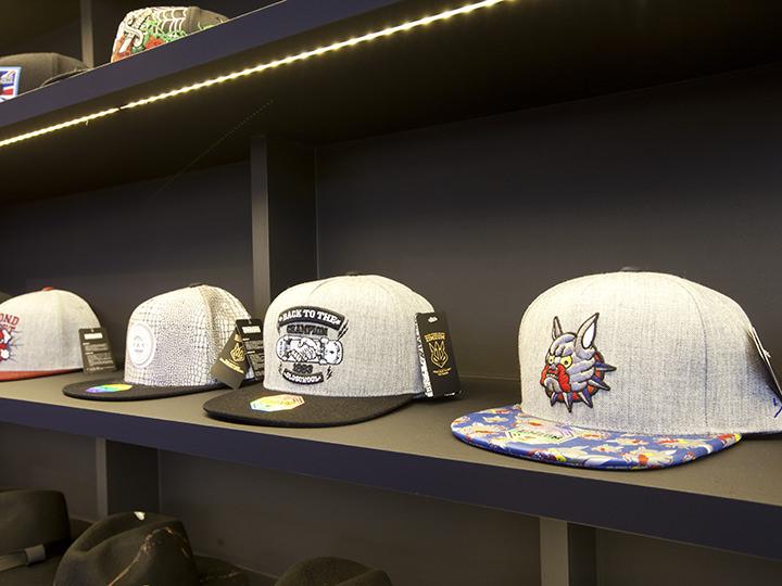 帽子コーナー