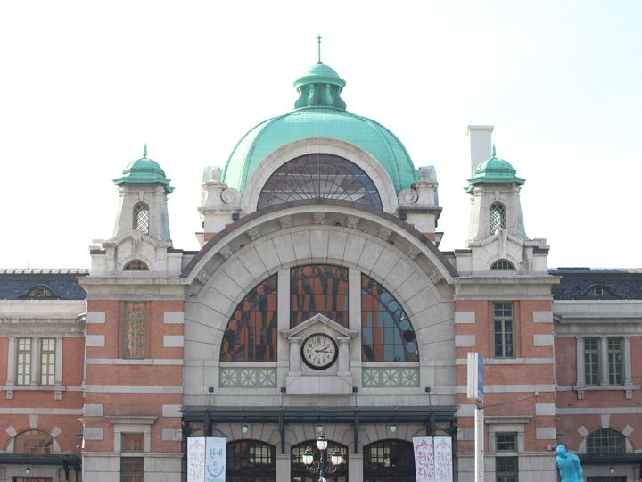 旧ソウル駅舎は現在文化スペースに
