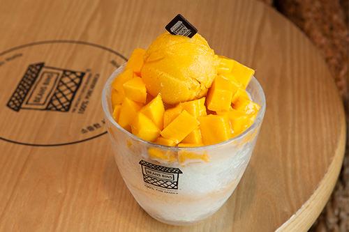 マンゴーアイスクリームピンス 13,900ウォン