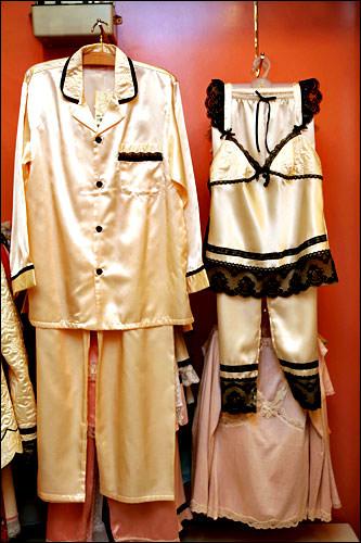 男女お揃いのパジャマ男性用 59,900ウォン女性用 49,900ウォン