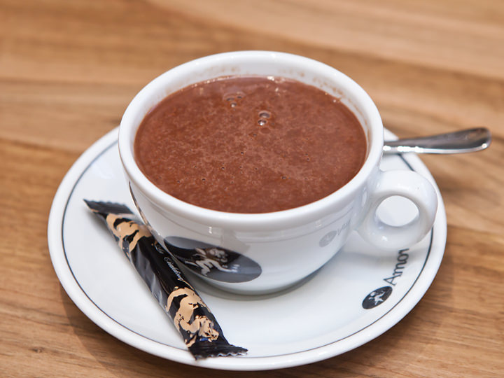 ホットチョコレート5,500ウォン
