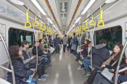 延長開通した地下鉄9号線
