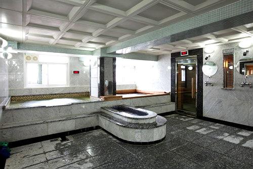女性用お風呂(5階)