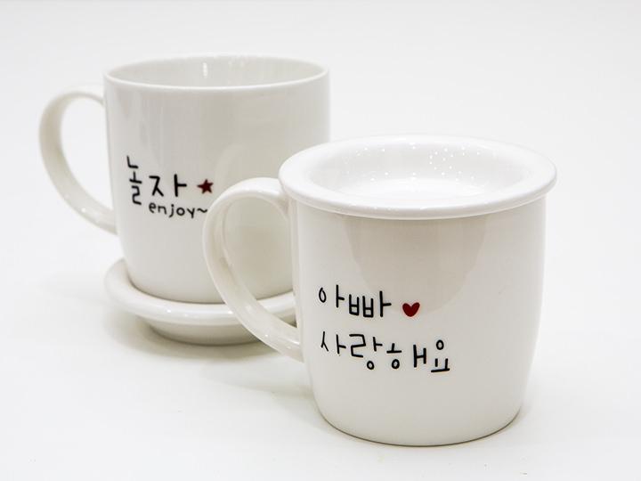 プレゼントに最適なメッセージ入りマグカップ
