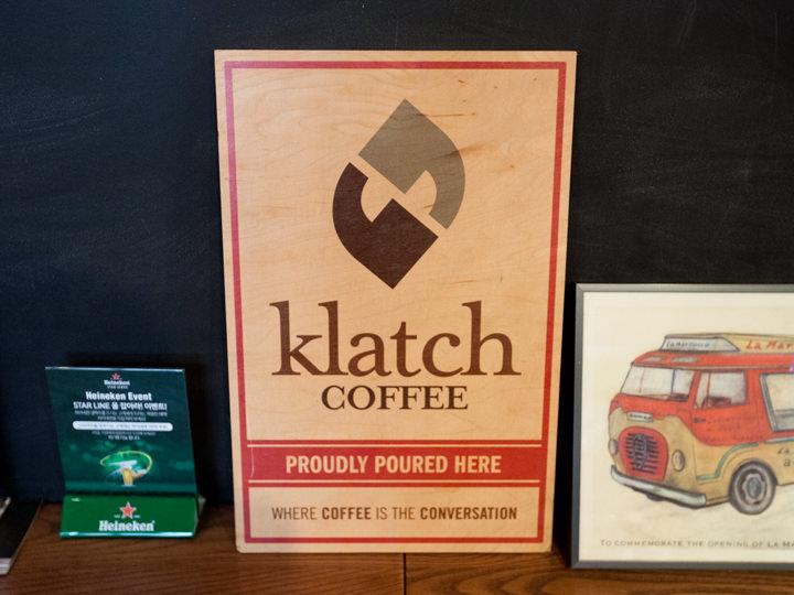 スペシャリティコーヒー「Klatch COFFEE」