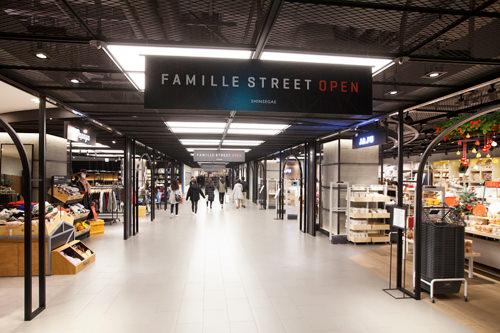 FAMILLE STREET日本未上陸ブランド「ALDO」などのショップや話題のデザートカフェ「FRANK's」などが入店