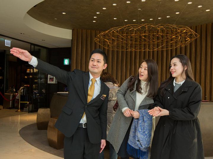 フロントには日本人スタッフが常駐韓国語が分からなくても安心