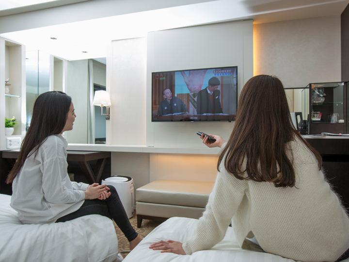テレビはNHKBS1、BS日テレ、BSフジテレビなど日本のテレビ番組が9チャンネルも視聴可!韓国の音楽番組やドラマだって満喫