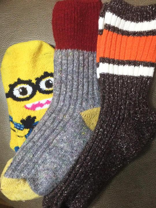 靴下日本より安くて可愛い靴下がいっぱいあるので、現地調達がオススメ!