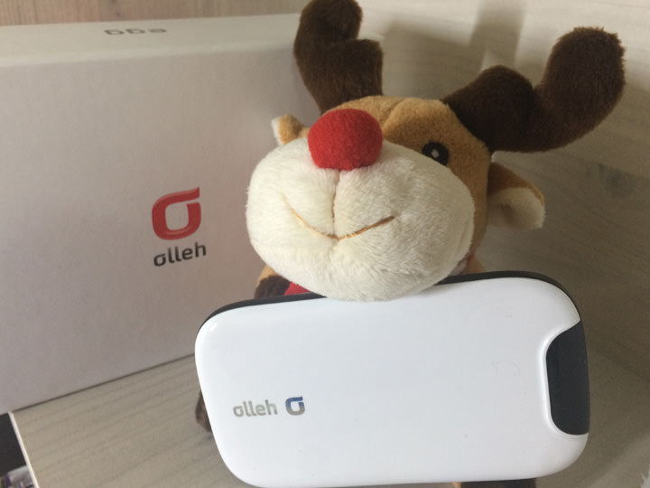 EGG Wi-Fi1ヶ月当たり15,000ウォン程。外出の際にいつでもどこでもインターネットが使えるので、とても便利です。