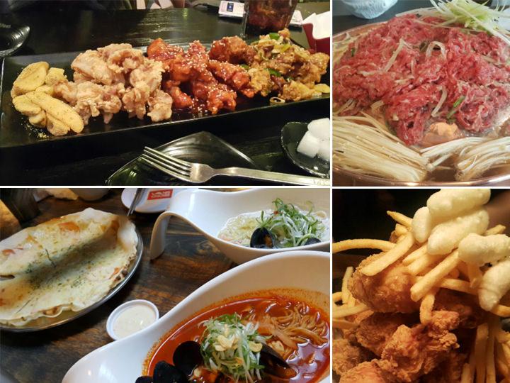 建国大学周辺は飲食店が多いので、週末には友達と美味しい店(マッチッ)を探して食べに行きます。最近はチキンにハマっています!