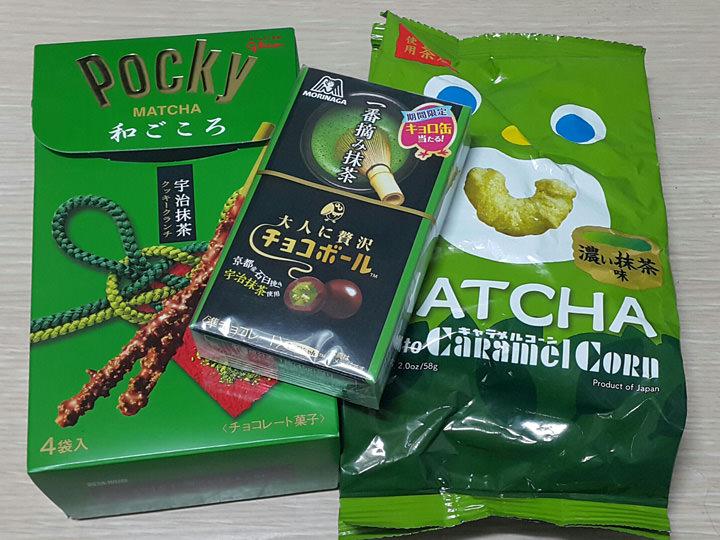 抹茶のお菓子抹茶が大好きなので、日本から持参!韓国ではあまり種類が多くない印象です。残りが少なくなったので、今度遊びに来る友達に買ってきてもらうことにしました♪