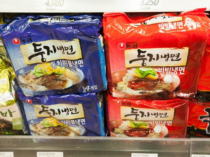 冷麺、ビビン麺