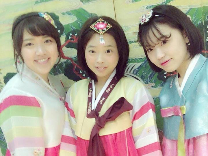 日本から会いに来てくれた友達と「仁寺洞(インサドン)広報館」で韓服(ハンボッ)体験!お手頃価格で伝統体験ができるのでオススメです。