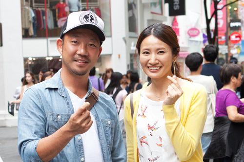 初めて韓国に来た彼氏さんはこの日初めてT-moneyの存在を知ったそう!「早速買いに行ってきます!」