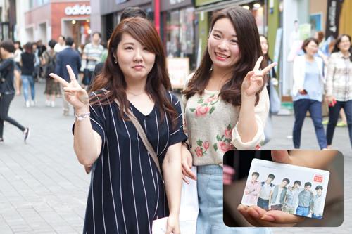 ロッテ免税店の2PMモデルバージョン!観光ツアーに参加した特典でもらいました。