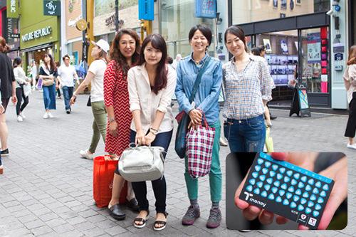 韓国留学&居住グループ!数年前に買ったT-moneyを今でも大事に使っています!今でもこの柄売っているのかな?