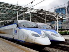 KTX超高速鉄道KTXは韓国地方旅行に最適。T-moneyでも購入可能!