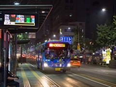オルペミバス(ソウルの深夜バス)ナイト観光・ショッピングに活用したい!