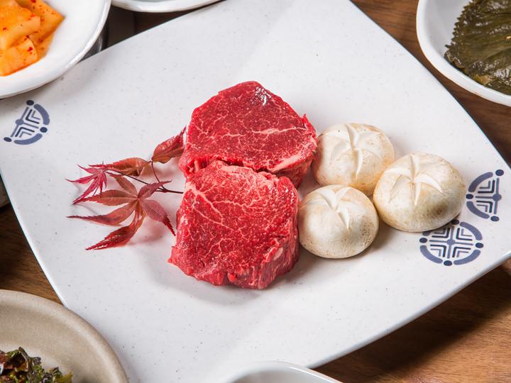韓牛ヒレ肉 1人分 38,000ウォン