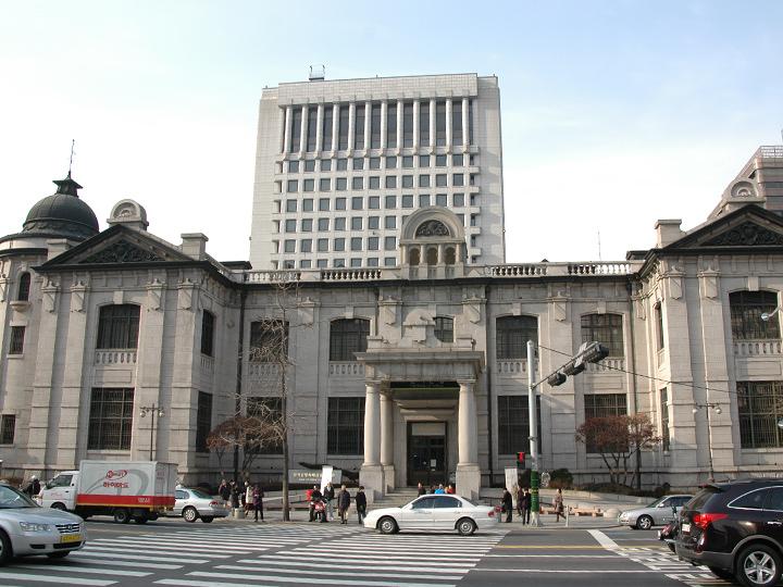 「貨幣金融博物館」として利用されている元韓国銀行