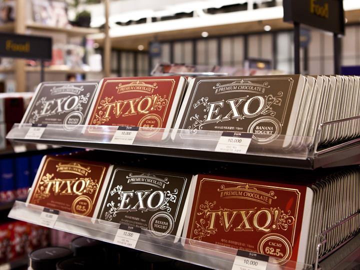 東方神起、EXOのチョコレート10,000ウォン