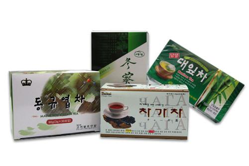 成人病の予防や補助治療としても知られる、竹の葉茶とチャガ茶