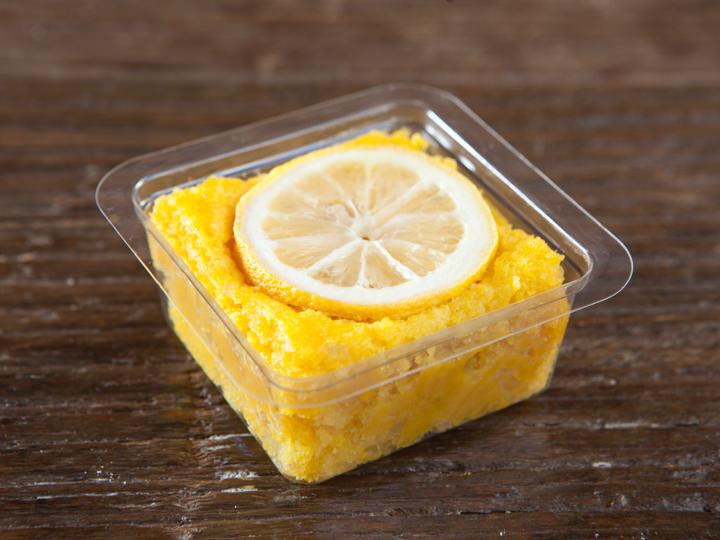 レモンが爽やかなハニーレモン豆腐ブラウニー