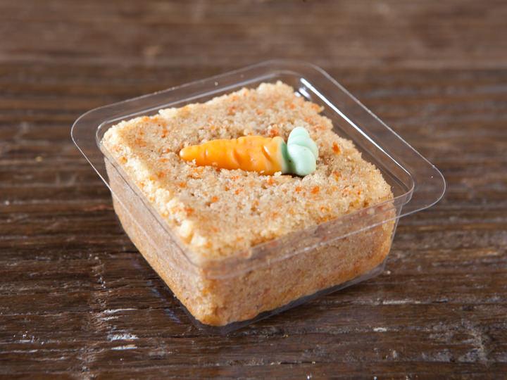 ちょっと大人味のシナモンニンジン豆腐ブラウニー