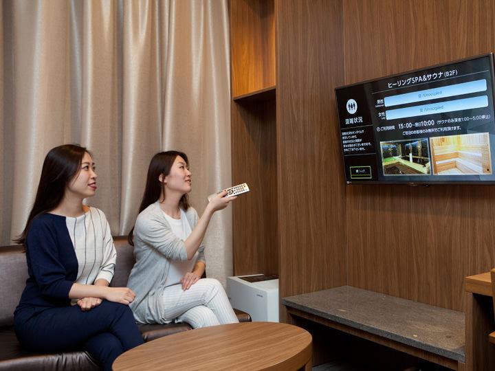 テレビは観たいコンテンツを選んで視聴できるビデオ・オン・デマンドに対応