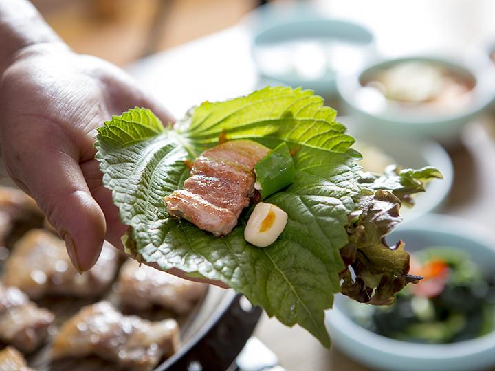これぞ韓国王道の食べ方!