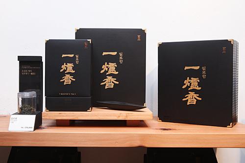 手摘み伝統茶「一爐香(イルロヒャン)」60g 150,000ウォン