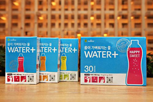 WATER+6,000ウォン(10袋)/18,000ウォン(30袋)