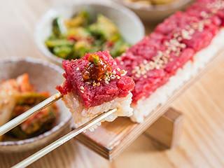 「ユッケ寿司 韓国」の画像検索結果