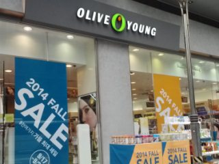 OLIVE YOUNG 鍾路1街店