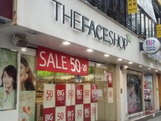 THE FACE SHOP 弘大1号店