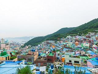 釜山のマチュピチュ 甘川文化村。
